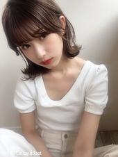 「鎌倉彩」大人小顔切りっぱなし外ハネボブ 14