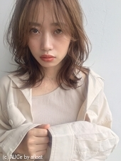 「鎌倉スタイル」くびれウルフエアリーセミミディ18