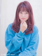 おしゃれガーリーベリーピンクカラースタイル AKI-204