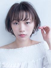 ひし形おしゃれなツヤ感ショートスタイル  AKI-501