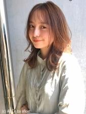ウルフレイヤーミディ シースルーバング【N-198】
