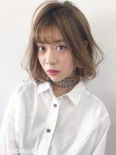柔らか質感揺らぎボブ【k145】