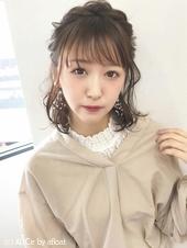 可愛くガーリーフェミニンアレンジ*【k145】