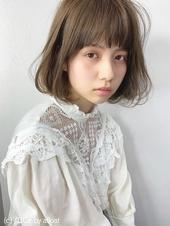 フェミニン柔らかシアーボブ【k240】