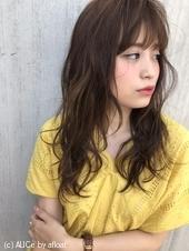 ゆるふわパーマ小顔前髪【T3】