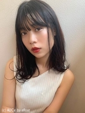 耳かけ小顔セミディ【T31】