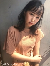 シースルーバング鎖骨ミディ【K_5】