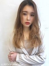 ツヤ髪シースルーレイヤーロング【K_74】