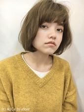 重め前髪ワンカールボブ【s18】