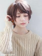小顔ショート耳掛けスタイルA600
