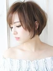 小顔効果の美シルエットショートカットA669