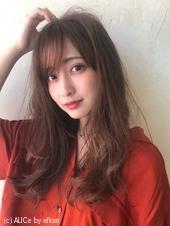 毛先のゆるミックスデジタルパーマA692