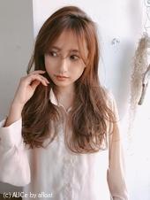 前髪伸ばしかけでもかわいい小顔パーマA715