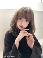 ひし形ミックスパーマA863