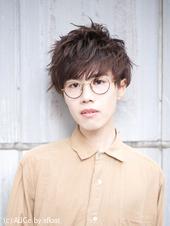 マッシュスタイルのメガネ男子【N-625】