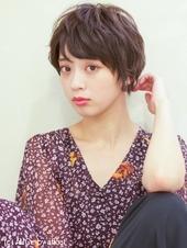 フェミニンマッシュショート☆Tー242