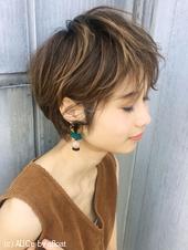 ハイライト♡夏髪はショートにキマリ【y−373】