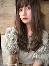 ツヤ髪セミロング ♡こっくり秋色【yー395】