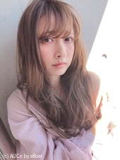 フェミニン レイヤーロング♡春髪【yー460】