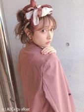 簡単おしゃれ♡スカーフアレンジ 【y−465】