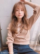 無造作パーマ 薄めの前髪が旬♡【yー467】