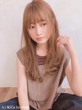 シースルーバング  毛先ワンカール【yー486】