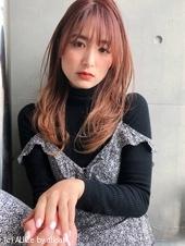 レイヤー 毛先パーマ ひし形シルエット【y−561】
