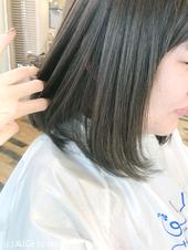 お客様ヘア♡外国人風カーキアッシュ M-189