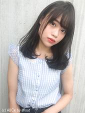 ツヤ髪大人綺麗なセミディ M-193