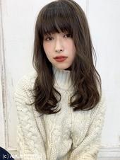 大人可愛いフェミニンパーマ ショコラブラウン♡M-222