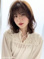 30代大人女性に♡ツヤ髪デジタルパーマ M262