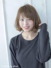 小顔フェミニンショート【シトラスアッシュ】U-189