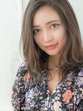 透明感大人ミディ【シトラスグレージュ】U-193
