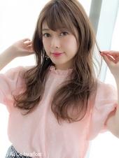 女子アナ風リラックスセミディ【シアーグレージュ】U-209
