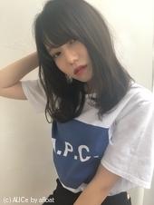 女子アナ風カジュアルセミディ【ネイビーグレージュ】U-220
