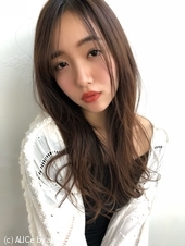 女子アナ風ラフセミディ【シナモングレージュ】U-224
