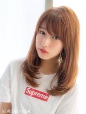 女子アナ風セミディ【シナモンブランジュ】U-241