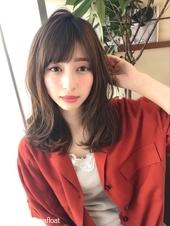 女子アナ風カジュアルセミディ【シナモンブランジュ】U-249