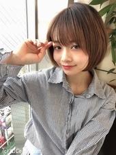 小顔抜け感ショート【ラベンダーアッシュ】U-258