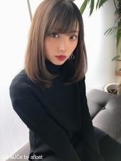 女子アナ風清楚セミディ【シナモンブランジュ】U-272