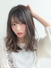 女子アナ風清楚セミディ【シナモンブランジュ】U-314