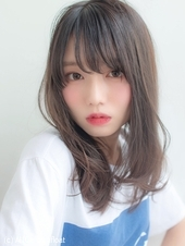 女子アナ風清楚セミディ【シナモンブランジュ】U-316
