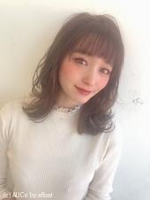 女子力ロング【シナモンブランジュ】U-317