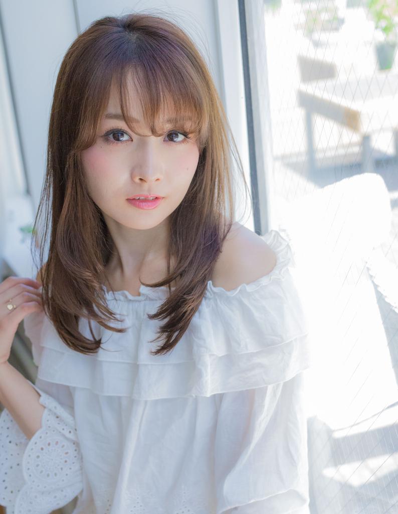 【若井】小顔大人可愛いシルキーストレート
