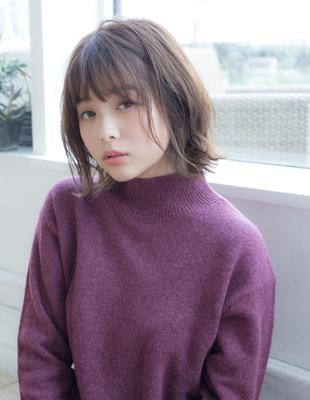 【若井】小顔シフォンボブ