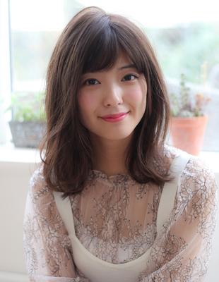 2019夏オススメ髪型透明感ヘルシーレイヤー小顔ボブディ