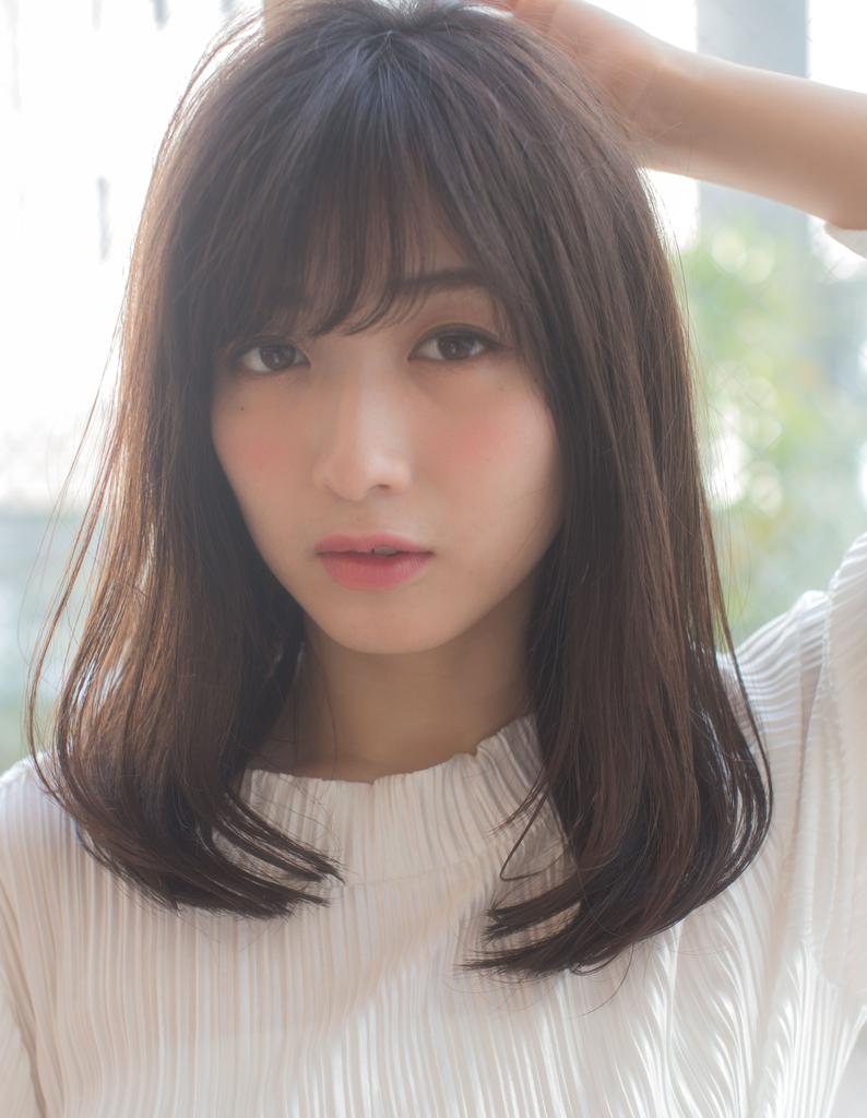 【浅沼】大人かわいいミディアムヘア