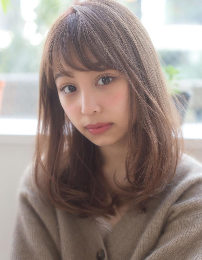 【浅沼】小顔 かわいい ミディアム