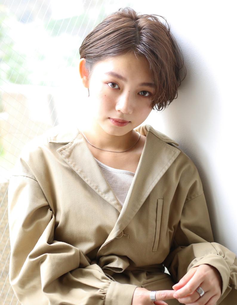 【Rui秋冬スタイル】いつもと違うウェットショートヘア&耳掛け