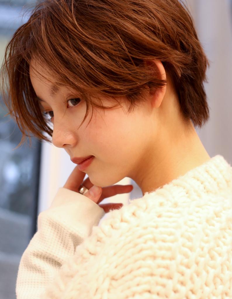 【#Ruiショート】横顔も可愛いアンニュイショート×小顔